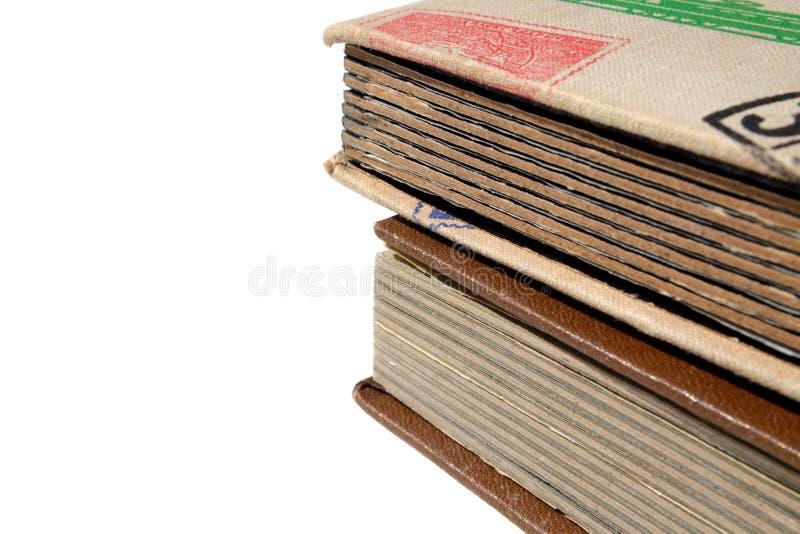 Albums voor zegels stock afbeeldingen
