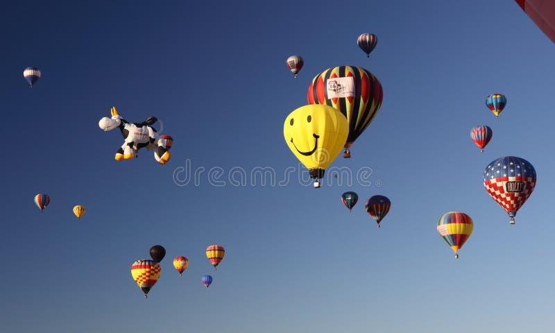 Albuquerque-Ballon-Fiesta stockfoto