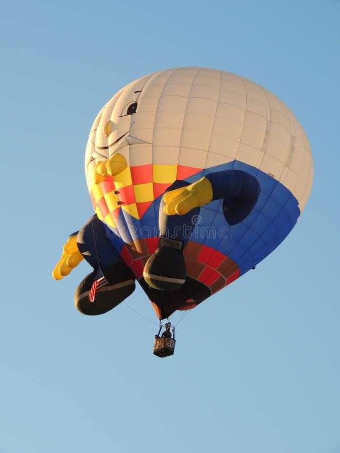 Albuquerque Balloon Fest Shapes Humpty Dumpty royalty free stock photography
