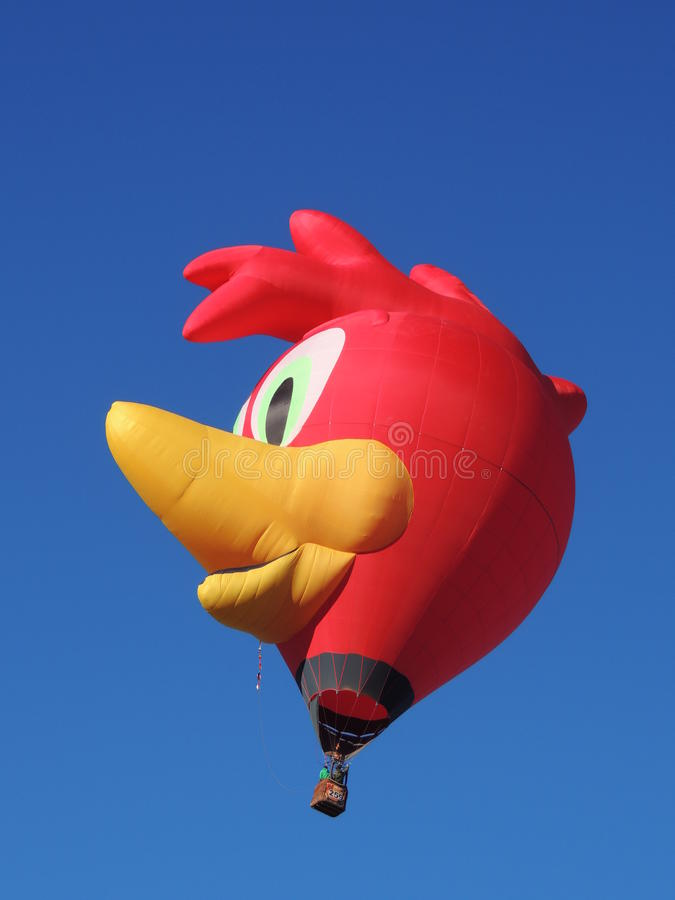 Albuquerque Balloon Fest Shapes Woody Woodpecker royalty free stock image