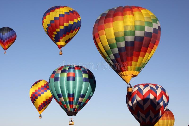 Download Albuquerque Balloon Fiesta stock image. Image of mass - 16680233