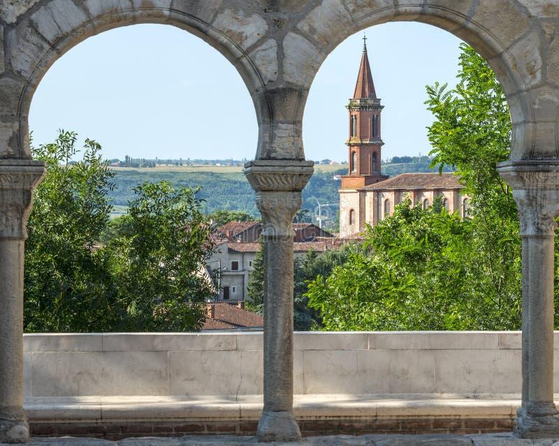 Alby (França), catedral foto de stock