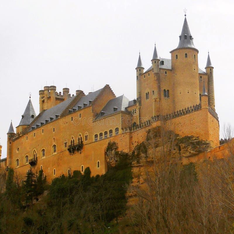 Alcà ¡ zar de Segovia zdjęcie royalty free