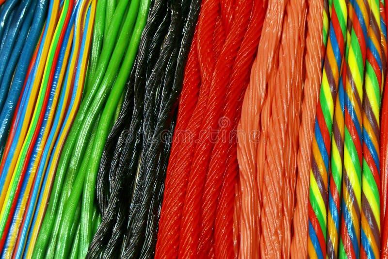 Alcaçuz colorido imagem de stock