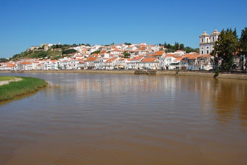 Alcacer fa il sale, Portogallo fotografia stock libera da diritti