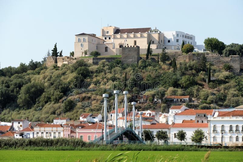 Alcacer tun Salz, Setubal, blaue Küste Portugal lizenzfreies stockfoto