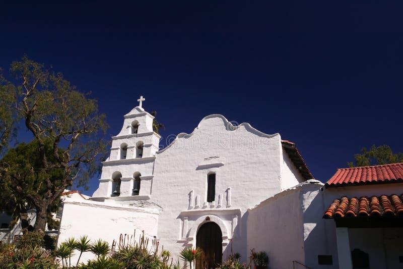 alcala地亚哥任务圣 免版税库存图片