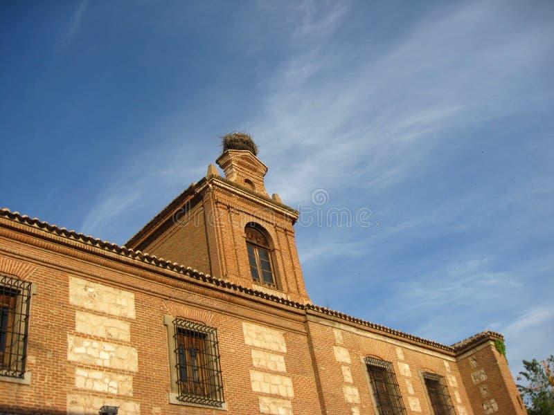 alcala de欧洲henares马德里省西班牙 图库摄影