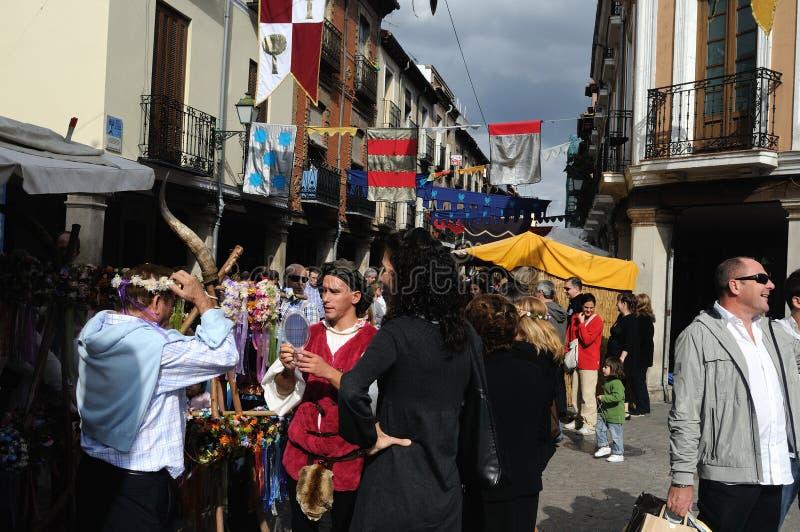 Alcala de Henares. España imagenes de archivo