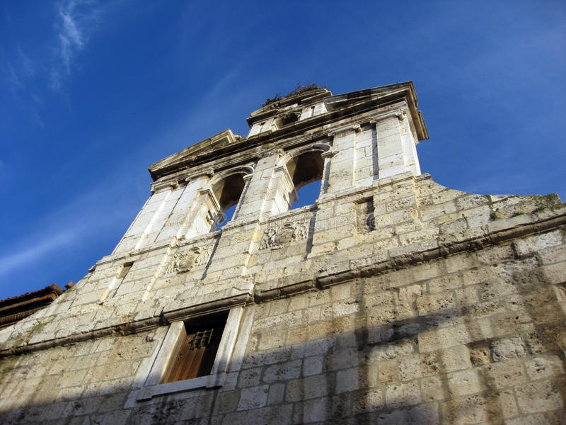Alcala DE Henares Madrid provincie Spanje Europa stock afbeelding