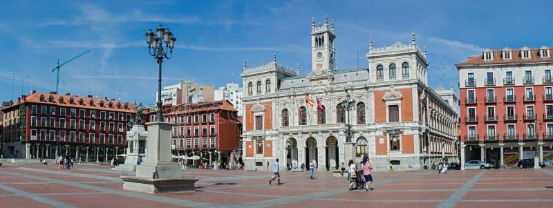 Alcalde De La Plaza Y El Ayuntamiento Imagen de archivo editorial