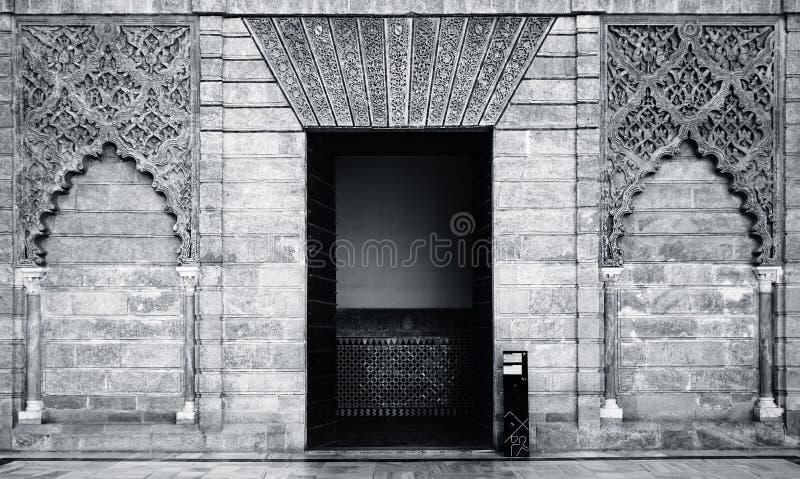Alcalzar-Eingang stockbilder