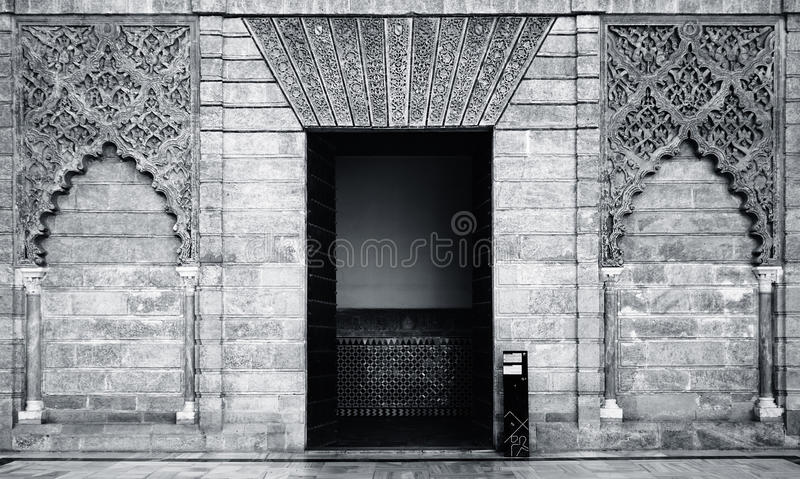Alcalzar entrance stock images