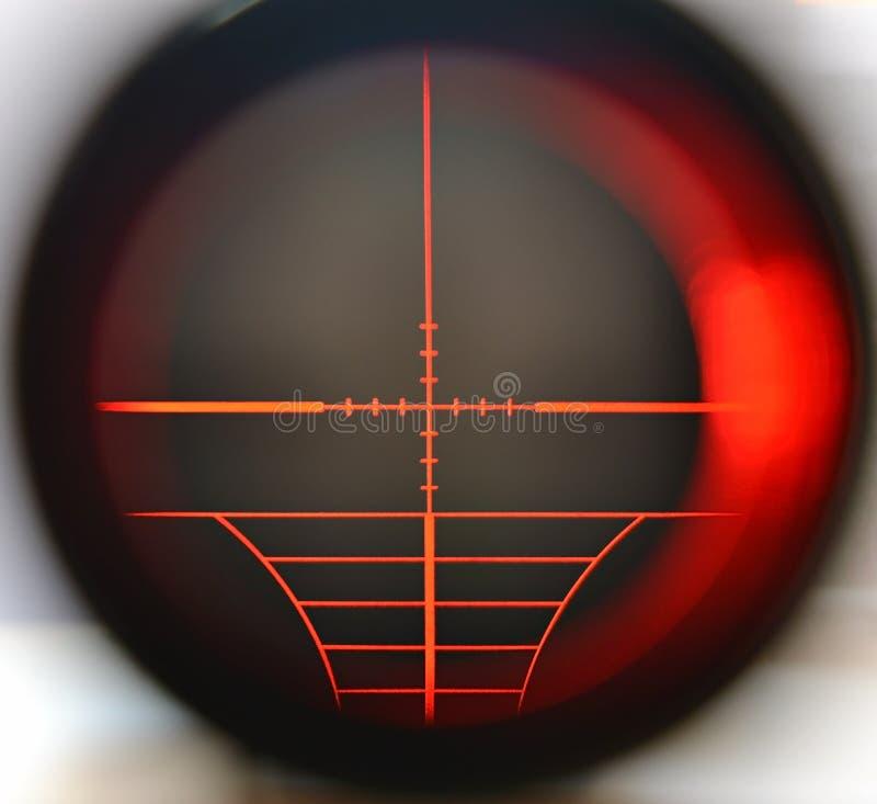 Alcance del francotirador fotos de archivo