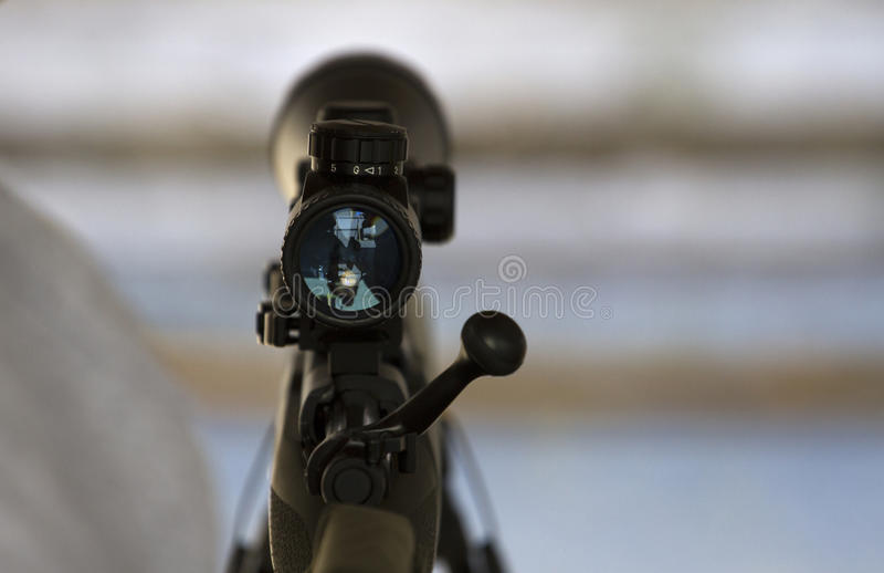 Alcance del rifle imágenes de archivo libres de regalías