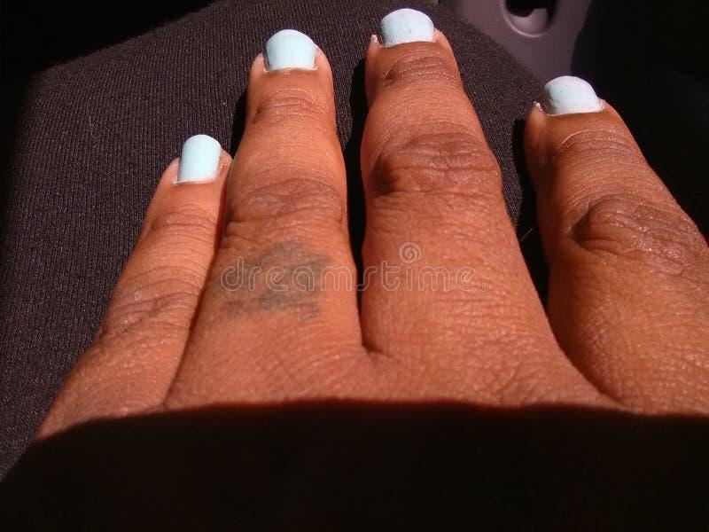 Alcance dos dedos imagens de stock royalty free
