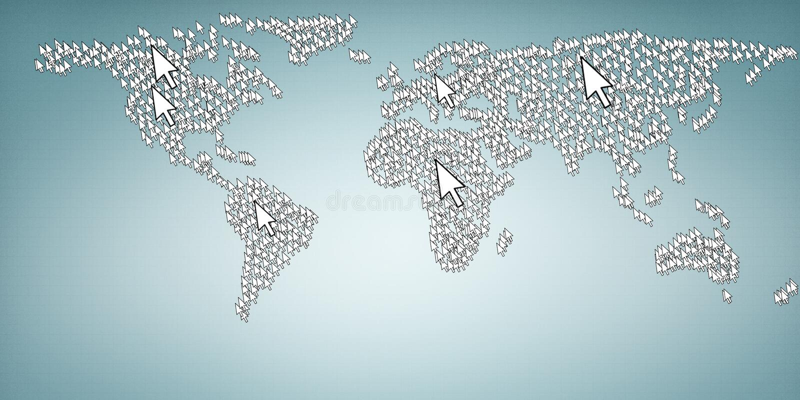 Alcance o globo imagem de stock royalty free