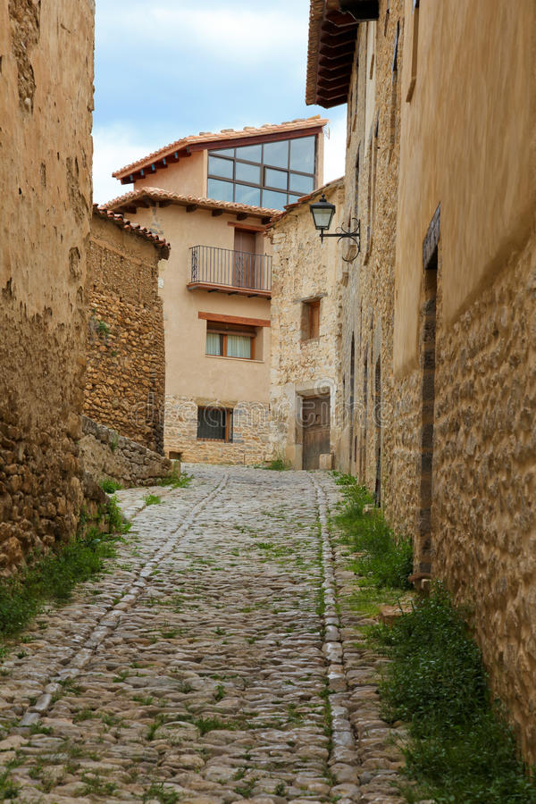Alcaniz,西班牙北部,西班牙 库存图片