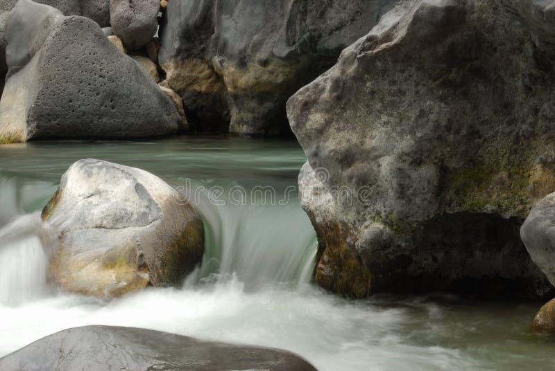 Alcantara Fluss stockbild