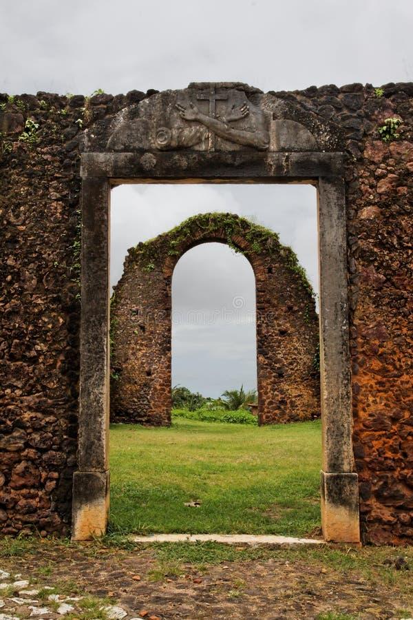 Alcantara Ruinen lizenzfreies stockbild