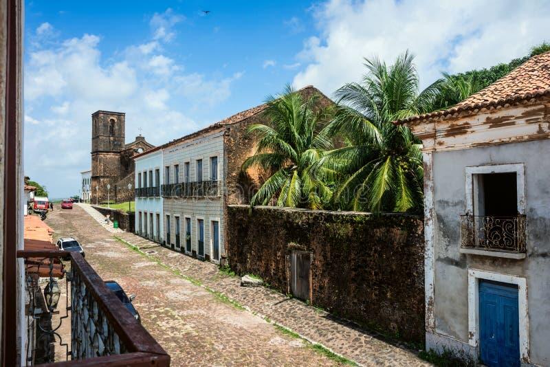 Alcantara, Sao Luis, Maranhao-Staat, Brazilië stock foto's