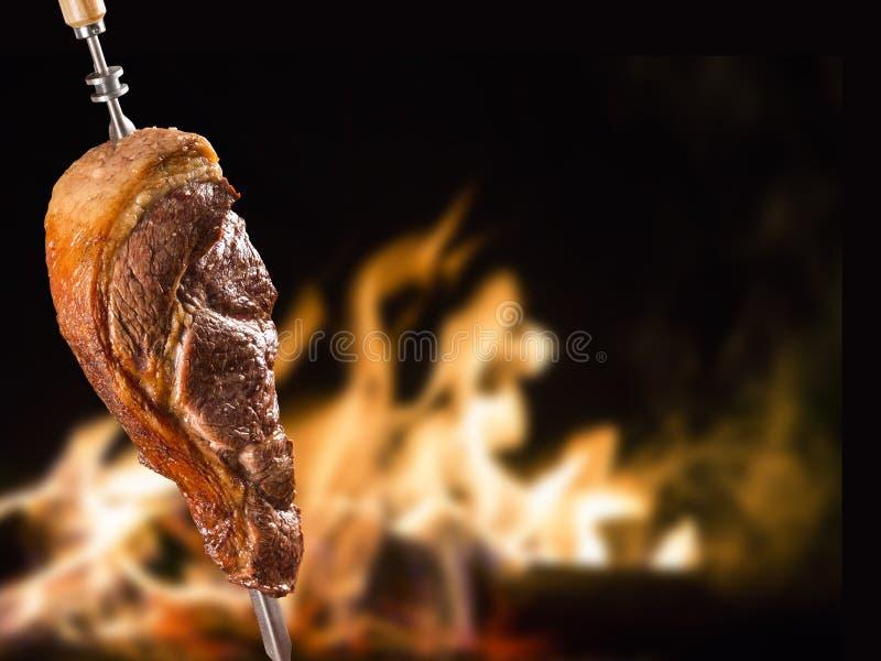 Alcatra, традиционное бразильское барбекю стоковое фото rf