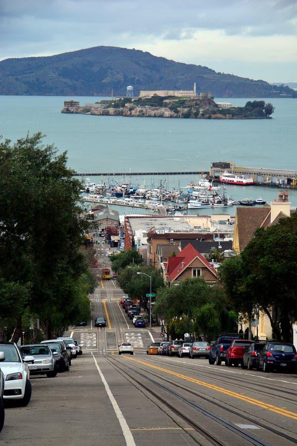 Alcatraz监狱 免版税图库摄影