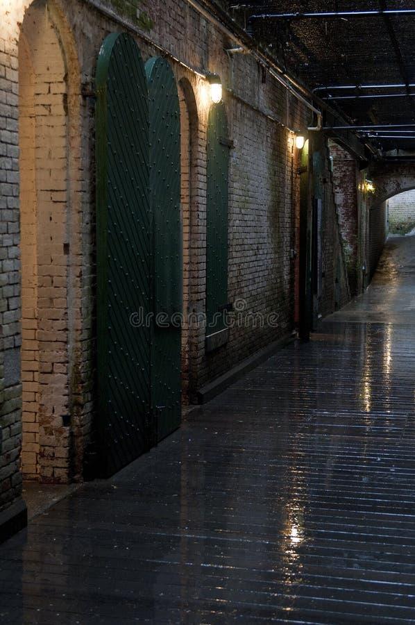 alcatraz内部监狱 免版税图库摄影