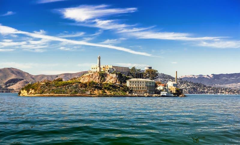 alcatraz弗朗西斯科海岛圣 库存照片