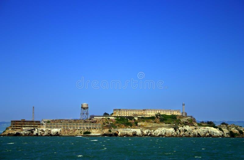 alcatraz弗朗西斯科海岛圣 免版税库存照片