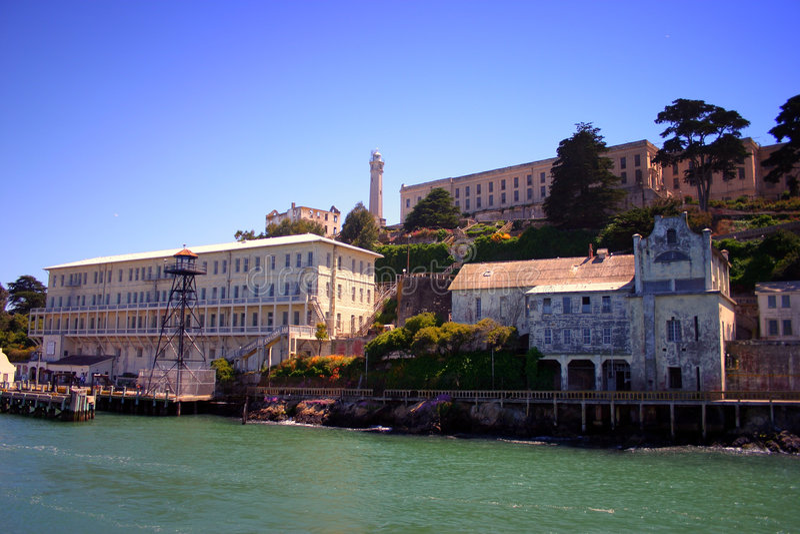 alcatraz弗朗西斯科海岛圣 库存图片