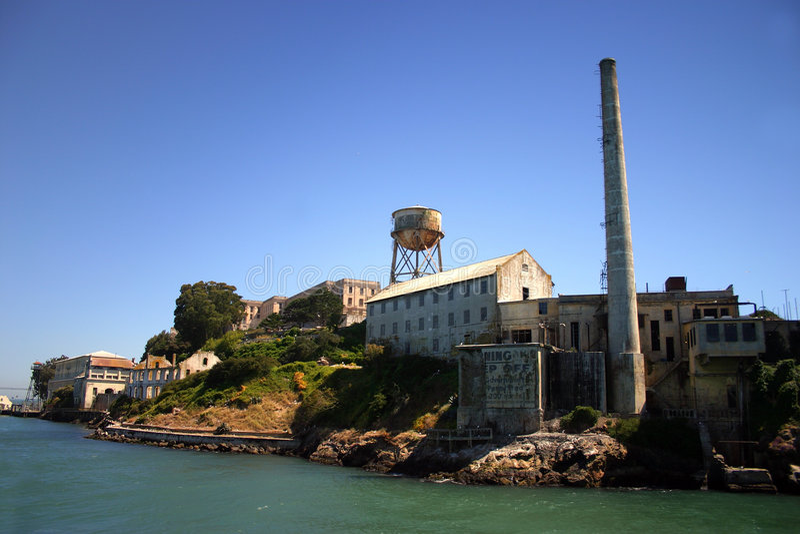 alcatraz弗朗西斯科海岛圣 免版税图库摄影