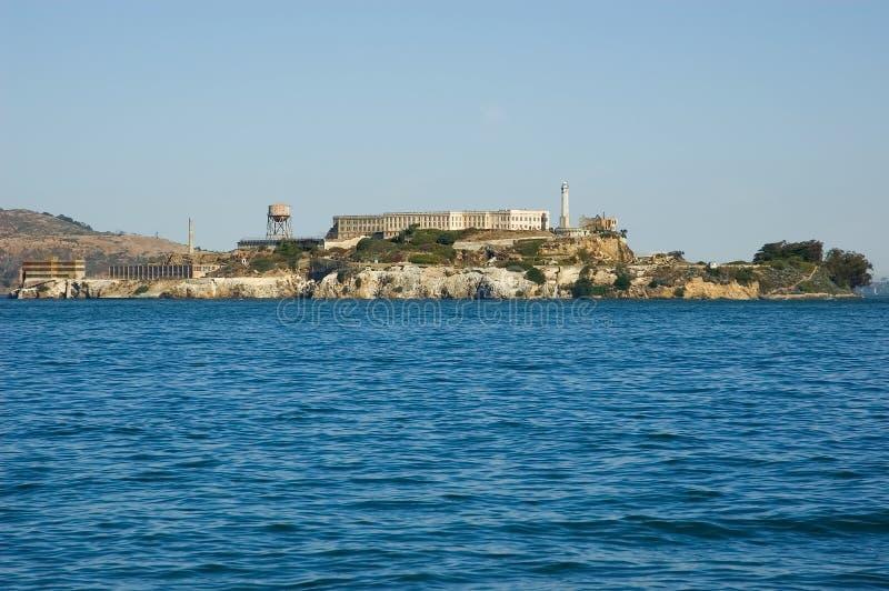 alcatraz海岛 库存照片