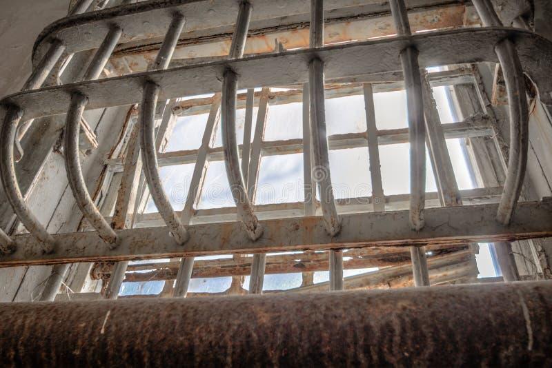 Alcatraz监狱窗口 免版税库存照片