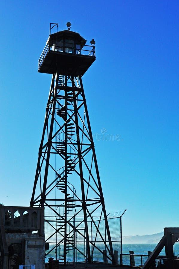 Alcatraz ö, San Francisco, Kalifornien, Amerikas förenta stater, USA royaltyfri fotografi