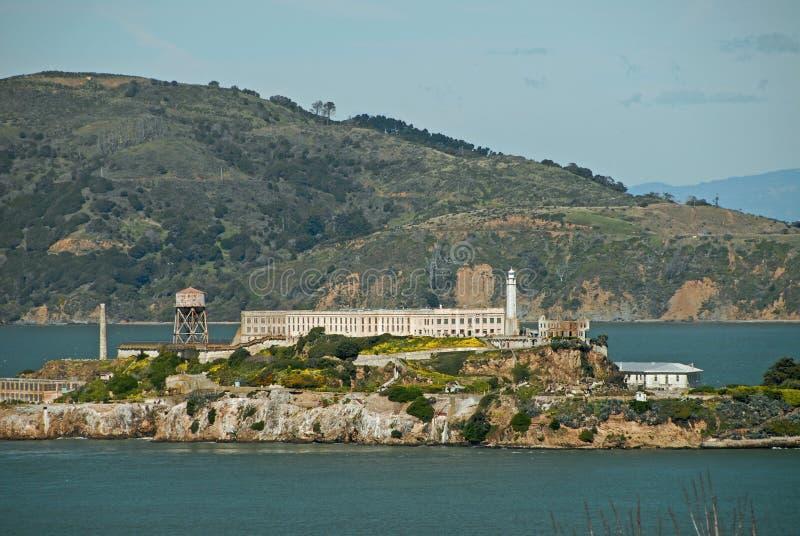 alcatraz νησί στοκ φωτογραφία με δικαίωμα ελεύθερης χρήσης