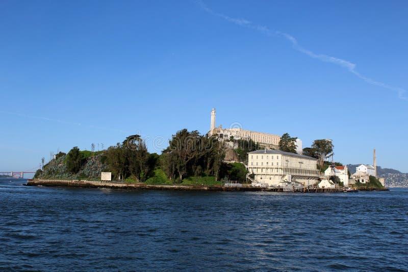 Alcatraz στο SAN Francsico, Καλιφόρνια στοκ φωτογραφία με δικαίωμα ελεύθερης χρήσης