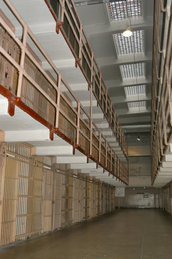 alcatraz φυλακή στοκ εικόνες