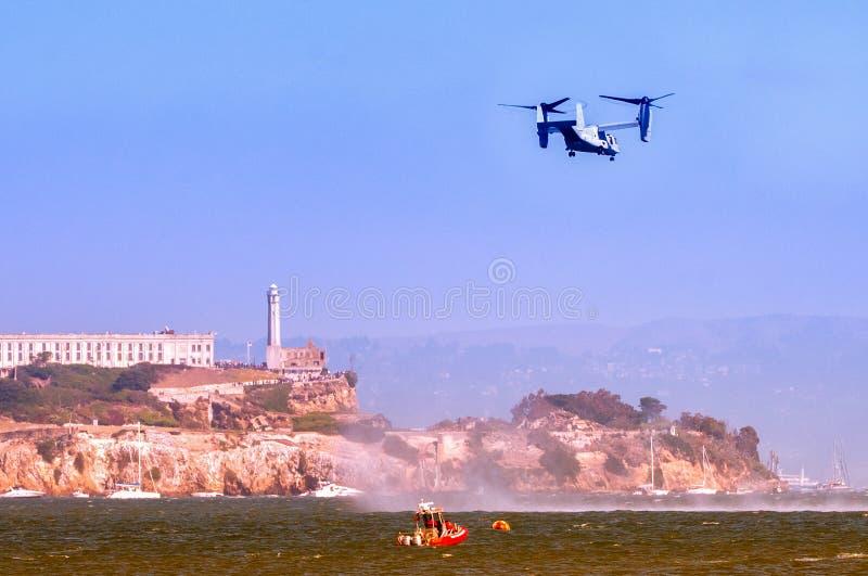 Alcatraz в Сан-Франциско стоковые фотографии rf