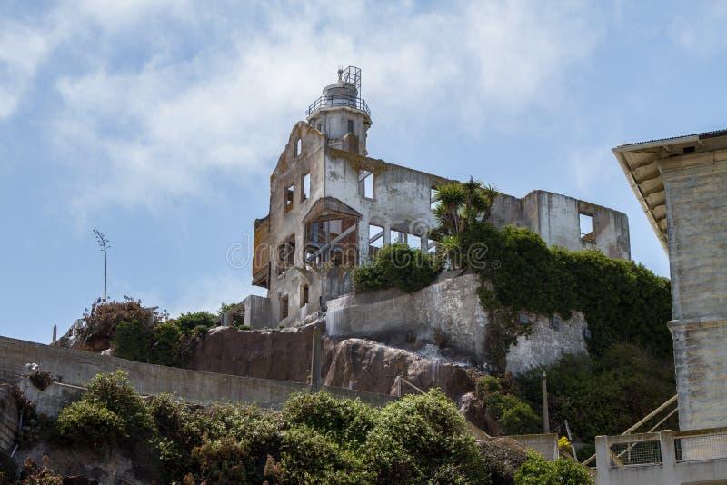 Alcatraz Сан-Франциско стоковое фото