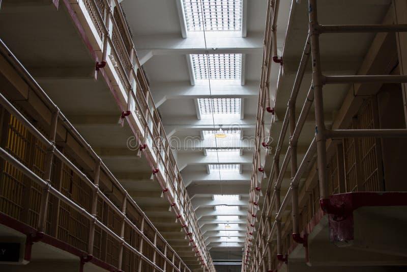 Alcatraz Сан-Франциско стоковые изображения rf