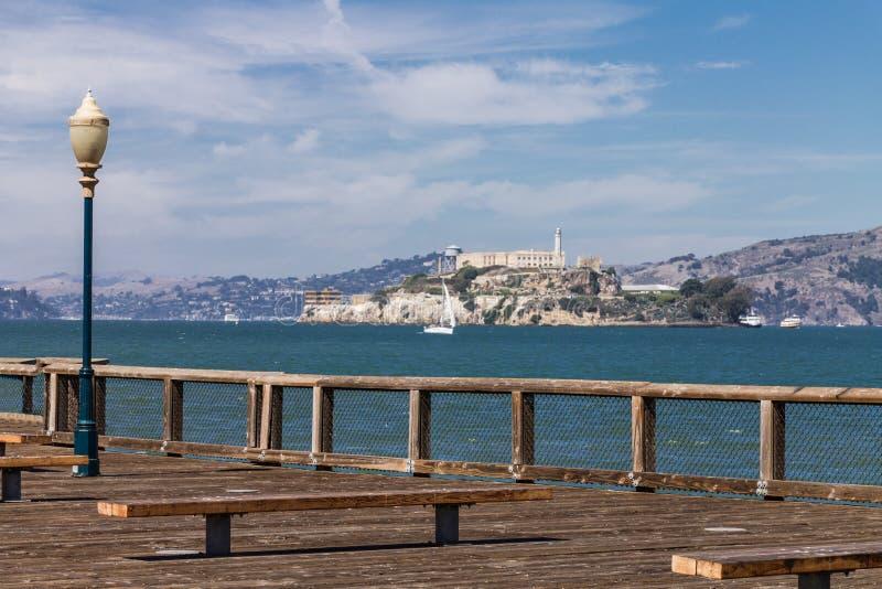 Alcatraz Сан-Франциско стоковая фотография rf
