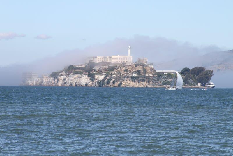 Alcatraz -旧金山-加州 免版税库存照片