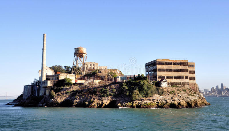 alcatraz 免版税库存图片