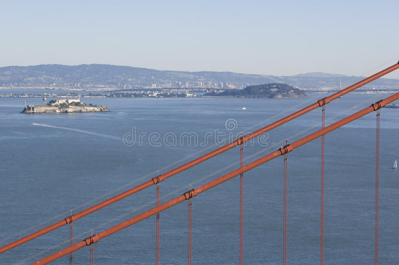 Download Alcatraz Cable stock photo. Image of journey, gate, california - 12640534