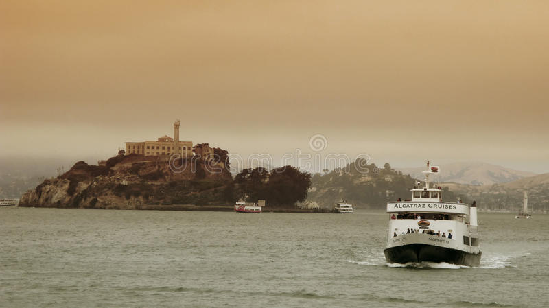 Download Alcatraz Cruises In San Francisco Editorial Stock Photo - Image: 17616118