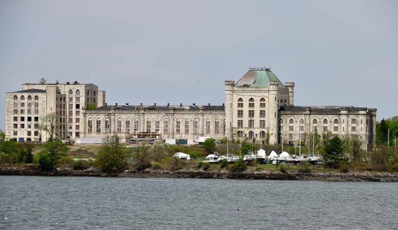 Alcatraz del este imagen de archivo