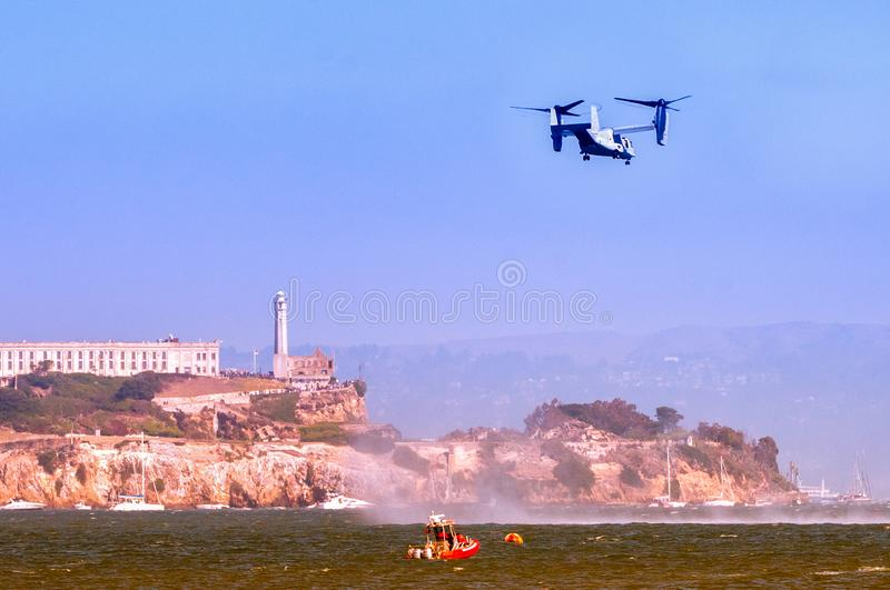 Alcatraz i San Francisco royaltyfria foton