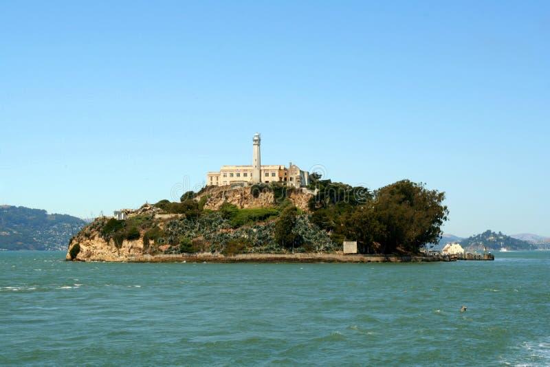 Alcatraz Insel stockbild