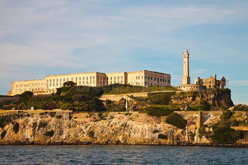 alcatraz latarni morskiej więzienie zdjęcie stock